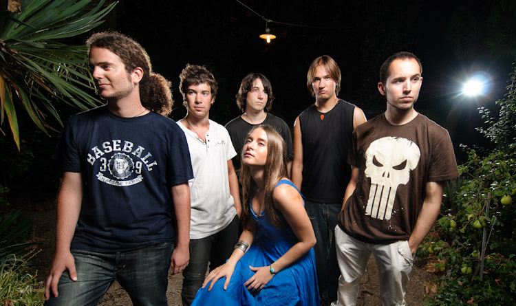 fotografia grupo de musica Deria