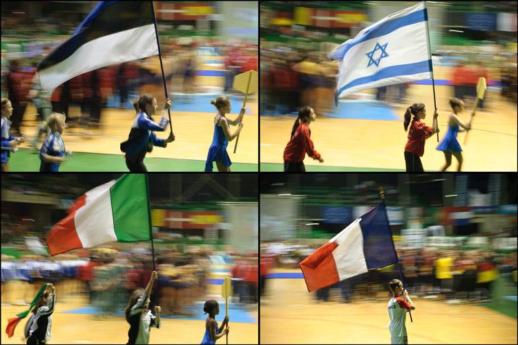 Barrido de banderas